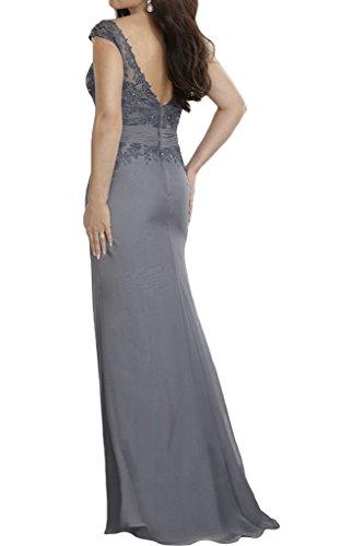 Victory Bridal - Robe - Crayon - Femme gris gris