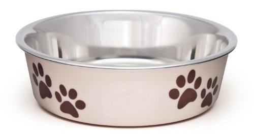 Loving Pets Bella Bowl for Dogs, Small, Paparazzi Pink