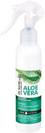 Dr Sante -Spray Anticaída Cabello, Pelo Natural Aloe Vera y Queratina (Keratina) con Cerámidas Naturales sin Sulfatos ni Parabenos de 150ml