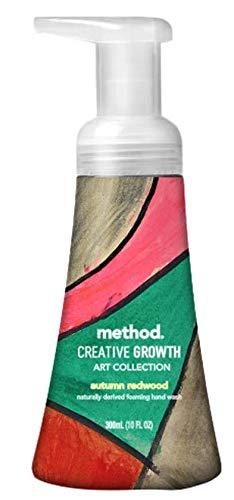 Method Creative Growth Art Collection Autumn Redwood Foaming Handwash - 10 fl oz ()