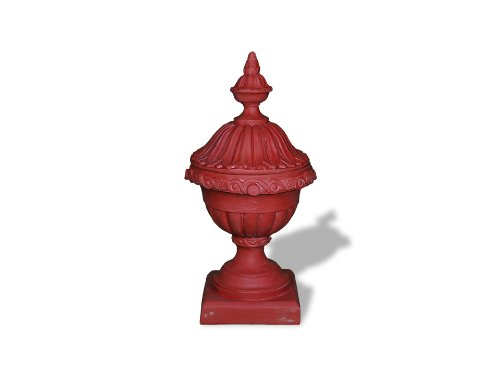 Amedeo Design ResinStone 2509-31T Imperial Urn with Top, ...