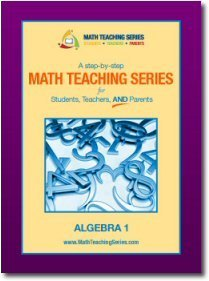 Math Teaching Series for Students, Teachers, and Parents Algebra 1 (Math Teaching Series, Volume 5) by Nicholas Aggor (2009-05-03) -  Teacher's Edition, Hardcover