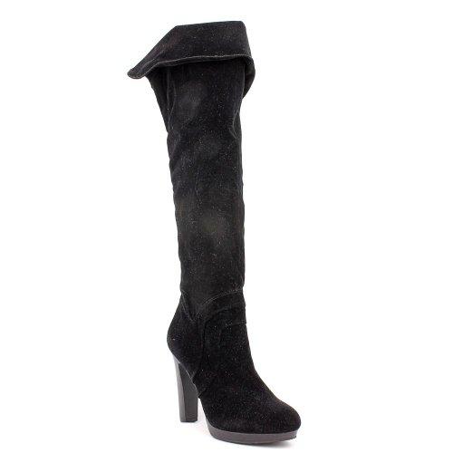 Inc Concepts Internationaux Noir Textile Zoey Boot 5.5m Us