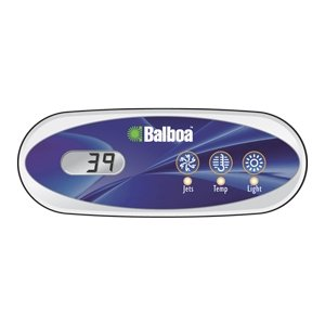 Balboa BB52487 VL200, 3 button LCD Topside Control w/Indicator (Lcd Spa)