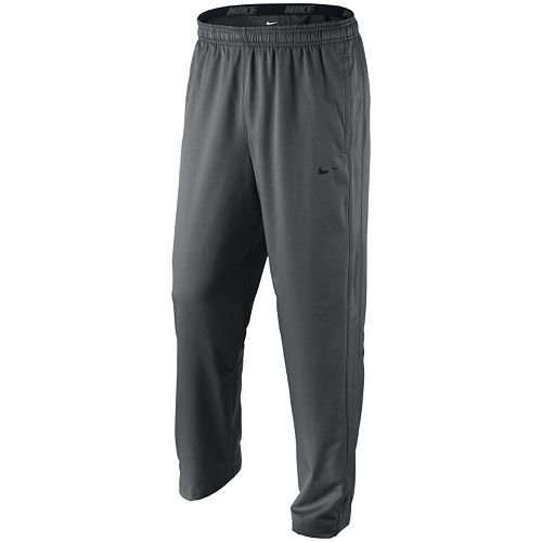 Nike Men's Athletic Team Woven Pants 377786-060 (Small, Anthracite/Black) ()