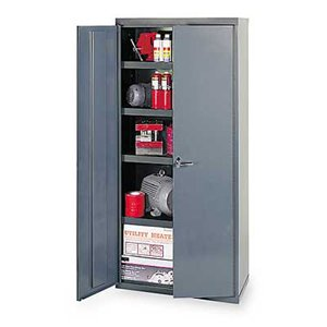 Edsal VC1502G Vault Storage Cabinet, Assembled, 4 Shelves, 1000 lb. Capacity, 36