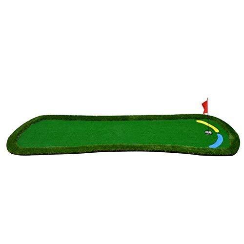 JKLL ゴルフ室内パッティンググリーン - バックスイング練習用マット、トレーニング - ゴルフ用具、シミュレータ、ギフト、家庭用アクセサリー、オフィス - サンドトラップ、グラスカーペット表面 - 37