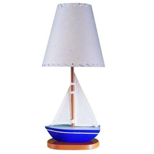 Cal Lighting BO-5653 Sail Boat Children's Lamp by Cal
