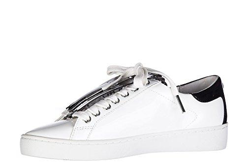 Michael Kors zapatos zapatillas de deporte mujer en piel nuevo patent keaton kil