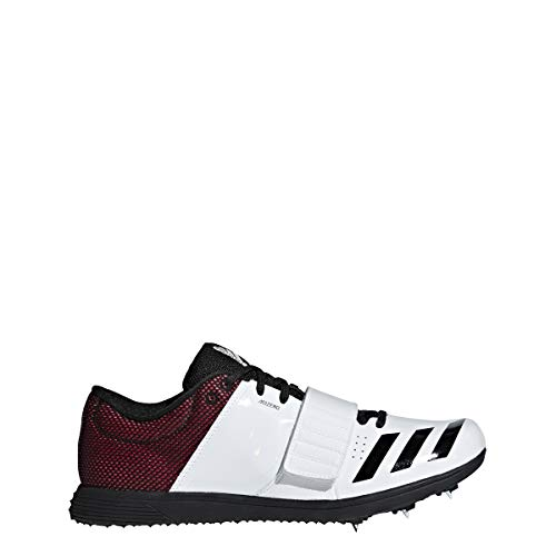 Spike Shoe - Unisex Track & Field White/Core Black/Shock Red ()