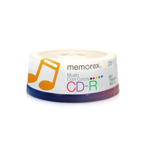 Memorex 40x CD-R Media