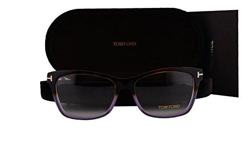 Tom Ford FT5424 Eyeglasses 55-15-140 Havana Purple 56A - Tom Ford Eyeglasses Purple