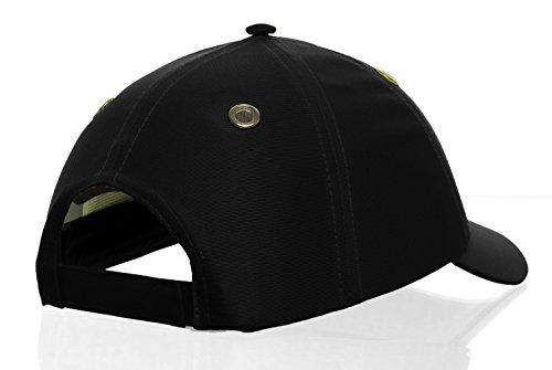 CHAPEAUX Helmet Seguridad Cap Hüte infortunio Negro 100 anti Bebé algodón kappen Sombrero gorro Béisbol HRvaHT