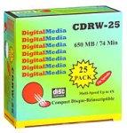 UPC 780269402165, STI 25-Pack of 74-Minute CD-RW Discs (CDRW25)