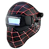 Save Phace 3012589 E - Series Black Spiderman Adf Welding Helmet
