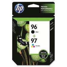 B8350 Inkjet Printer - HEWC9353FN HP 96/97 Ink Cartridges,860 Pg Yld BK,560 Pg Yld Clr,2/PK