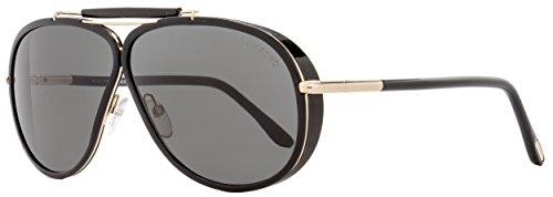 Sunglasses Tom Ford CEDRIC TF 509 FT 01A shiny black / - Aviator Tom Ford
