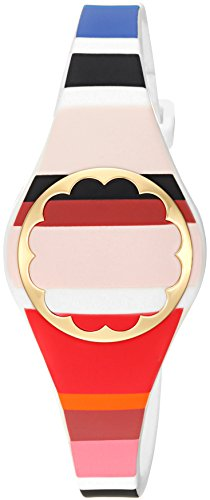 Kate Spade New York Kate Spade Scallop Tracker Multicolored Striped Scallop Activity Tracker Bracelet by Kate Spade New York (Image #1)