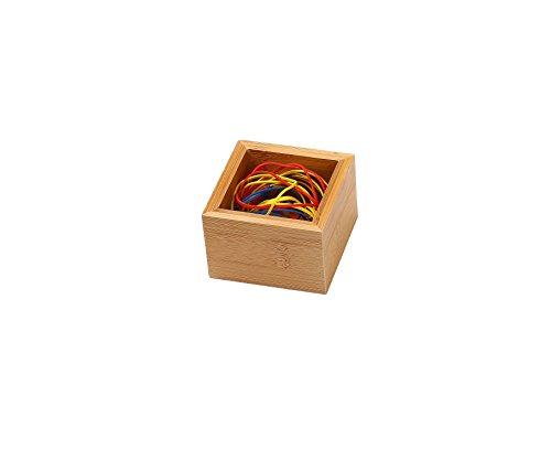 YBM Home & Kitchen Bamboo Drawer Organizer Box 3x3 #320