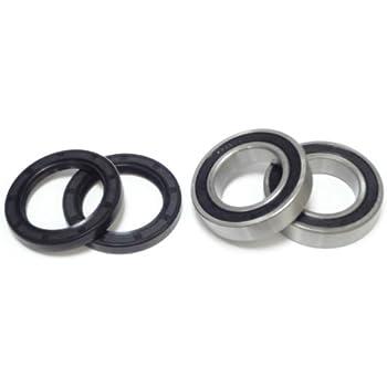 Amazon com: Both Front Wheel Bearings and Seals Kit YFM 350