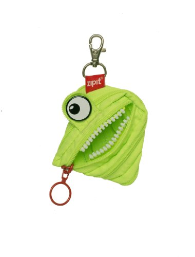 ZIPIT Monster Mini Pouch Coin Purse, Lime
