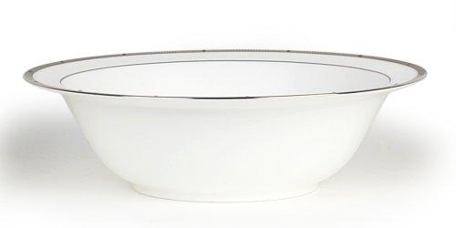 (Noritake Rochelle Platinum Round Vegetable Bowl, 9-1/2-inches, 32-ounces)