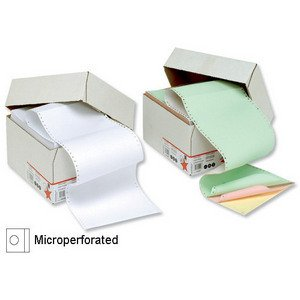 5Star Office Listing Paper Microperforated 80/58/57GSM Carbonless A4bianco/rosa/giallo [700fogli]