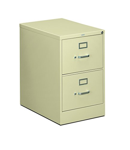 (HON The Company P.L HON312CPL 310 Series Vertical File Cabinet Legal Width, 2 Drawers, Putty (H312C),)