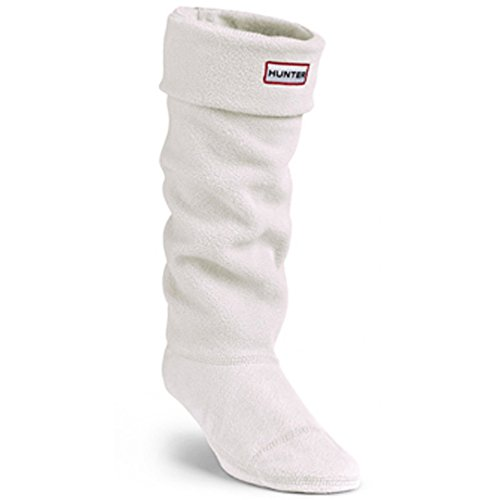 Fleece Welly Socks (Hunter Adults Boxed Fleece Welly Socks (US FEMALE 5-7, Cream))