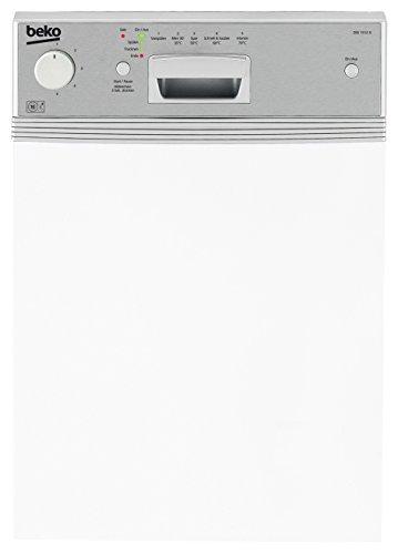Beko DSS 1512 X Teilintegrierter Geschirrspüler / Einbau / AA / 0.91kWh / 10 MGD / 13L / Waterstop / edelstahl / 44.8cm