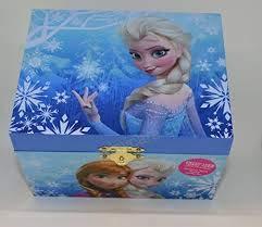Frozen Elsa and Anna Music Jewelry Box, Blue]()