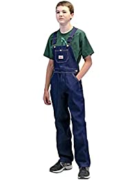 Round House Big Boys Demin Overalls - Made in USA