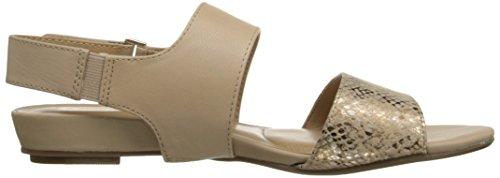 Naturalizer Women's Lanna Dress Sandal Taupe/Gold DR6gGym
