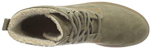 s.Oliver Damen 26212 Kurzschaft Stiefel Grün (Khaki 701)