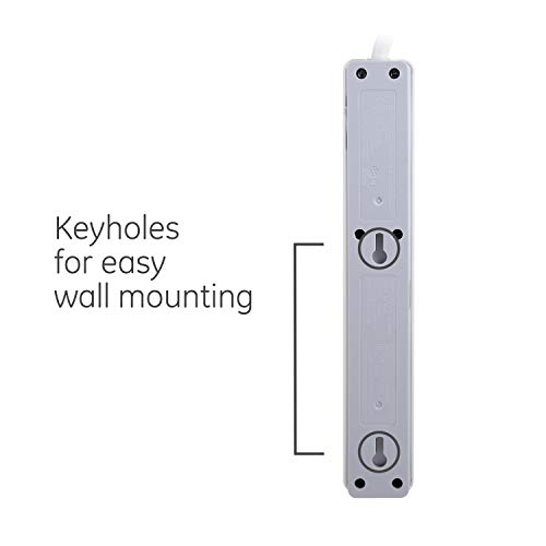GE 14089 6-Outlet General Purpose Surge Protector White
