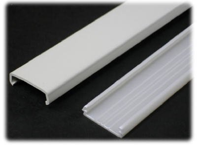 Wiremold Company Nm1 Ivory Plastic Wire Channel 5' by Wiremold (Image #1)