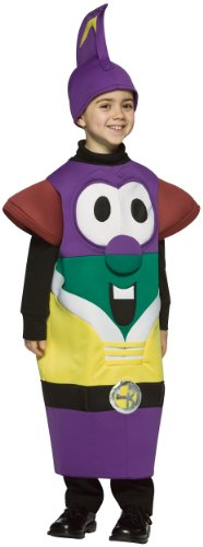 Larry Boy Costume (Larry Boy from Veggie Tales)