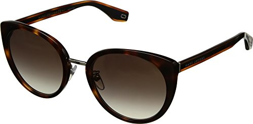 Marc Jacobs Womens Marc 281/F/S Dark Havana One Size Marc By Marc Jacobs Uv Protection Sunglasses