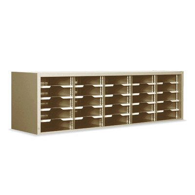 Mailroom Utility Sorter with Adjustable Shelves by Marvel