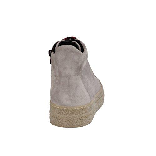 Donna Carolina Oregon 34.168.123- Damenschuhe Modische Stiefelette, Beige, Leder