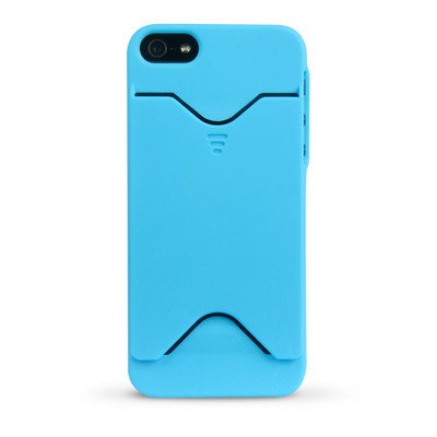 UPC 758302650552, iEssentials IPH5-WC-BL iPhone 5 Wallet Case - 1 Pack - Retail Packaging - Blue