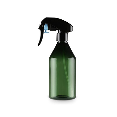 Spray Bottle, Refillable Plastic Empty Spray Bottles, 300ml Capacity Water Sprayer, Hairdressing Spray Bottle For Essential Oil, Water, Kitchen, Bath, Beauty, Hair, and Cleaning(Dark Green)