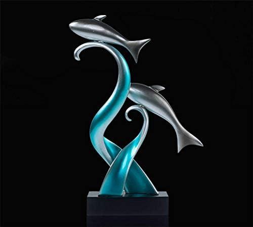 Figuras Decorativas Estatuas Arte Escultura De Peces Adornos 1