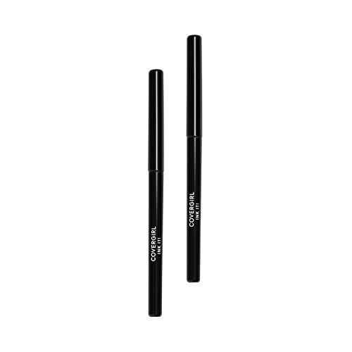 Covergirl Ink It! By Perfect Point Plus Waterproof Eyeliner, Black, 2 Count (Best Ink Pen Eyeliner)