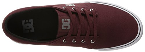 DC Shoes Trase TX, Hombre Low-Top Zapatillas, Color Rojo, Talla 40 EU (M)