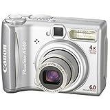 Canon デジタルカメラ powershot A540 600万画素 単三電池仕様
