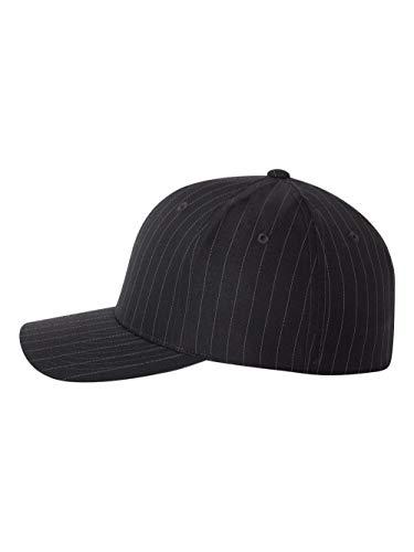 - Flexfit - Pinstripe Cap - 6195P - L/XL - Black