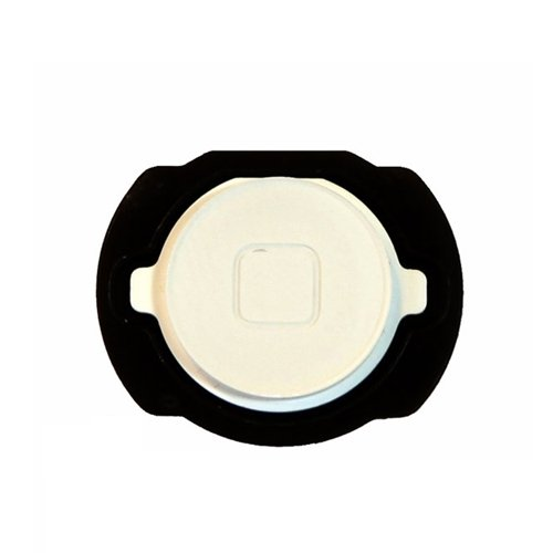 BisLinks® For Apple iPod Touch 4th Gen 4G Home Button w/ Spacer White OEM Replacement Part (Touch Keypad Ipod)