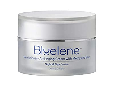 Anti Aging Day & Night Cream, Bluelene. Revolutionary Anti Wrinkle Face Cream with Methylene Blue (30 ml)