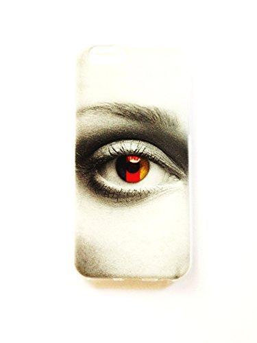 "Housse en silicone TPU Bumper Back Case Cover Coque ""Eye Of Allemagne pour téléphone portable Apple iPhone 6/6S"